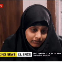 """""""No proof that I was a threat, other than I was in ISIS"""" 😩😂: ING NEWS I.S. BRIDE  LEFT THE UK TO JOIN ISLAMIC  SHAMIMA BEGUM """"No proof that I was a threat, other than I was in ISIS"""" 😩😂"""