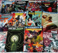 Books, Joker, and Memes: INHUM  AMAZINC  TEEN TITANS What did you pick up today, on this nice new comic book day?   - Joker