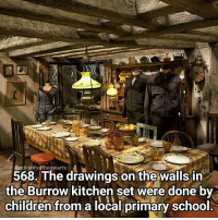 Hey guys, I can't believe it's a year today since I met up with @issiesinfinity! This year has gone so fast! Qotd - Have you met any Internet friends? Carina Mae x Fc - 87.6k @maelovesbooks @carinapotter: inistryofhogwarts  568. The drawings on the walls in  the Burrow kitchen set were done bv  children from a local primary school Hey guys, I can't believe it's a year today since I met up with @issiesinfinity! This year has gone so fast! Qotd - Have you met any Internet friends? Carina Mae x Fc - 87.6k @maelovesbooks @carinapotter