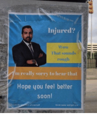 Injured?: Injured?  That sounds  rough  m really sorry to hear thal  Hope you feel better  soon!  iously  re of yourself  Drink water and get ee st Injured?
