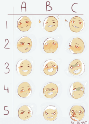 ink-ami: Expression meme time ! Free to use of course. : ink-ami: Expression meme time ! Free to use of course.