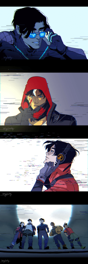 inkydandy:Just some fun, glitchy stuff. I was rolling with an urban vigilante concept, then it turned kind of cyberpunk-ish and here we are.: inkydandy   ------.-  .  intydanaly inkydandy:Just some fun, glitchy stuff. I was rolling with an urban vigilante concept, then it turned kind of cyberpunk-ish and here we are.