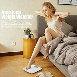 Guide, Health, and Management: Innotech  Weight Watcher  Weight Controlling  Health Management This scale must need a more thorough user guide...