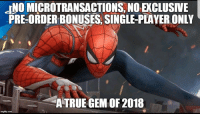 Game, Good, and Thought: INO MICROTRANSACTIONS, NO EXCLUSIVE  PRE-ORDER BONUSES SINGLE-PLAYER ONLY  ATRUE GEM OF 2018 Just when you thought CDPR were the only good game developers nowadays... https://t.co/PT1zlgc6R2