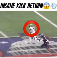 """INSANE KICK RETURN @dree_henderson Kick Return At The Military Bowl 😱 - Comment """"JUKE"""" letter by letter without getting interrupted👇🏽 - (FOLLOW @dankrushes FOR A CHANCE TO WIN A SHOUTOUT🔥) - doubletap"""