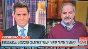 """Corporate Media Is A Parody Of Itself:  #INSIDEPOLITICS  LIVE  EVANGELICAL MAGAZINE COUNTERS TRUMP: """"WE'RE PRETTY CENTRIST""""   CN  9:59 AM PT  RY, THIS FAMILY FEELS IT HAS BEEN TAKEN ADVANTAGE OF, THAT THEY HA  INSIDE POLITICS Corporate Media Is A Parody Of Itself"""