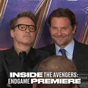 The stars of the Marvel universe gathered last night for the premiere of Avengers: Endgame - I am so excited for this 👏: INSIDETHE AVENGERS  ENDGAME PREMIERE The stars of the Marvel universe gathered last night for the premiere of Avengers: Endgame - I am so excited for this 👏