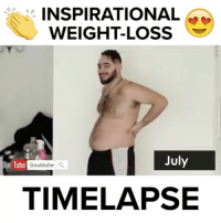 Memes, Tube, and 🤖: INSPIRATIONAL  July  fou Tube  Goubtube  a  TIMELAPSE Wait for it 😂 Via @goubtube