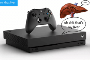 """inspired by typing """"xbox liver"""" instead of xbox live. It's trash I know https://t.co/sdsmduLjIv: inspired by typing """"xbox liver"""" instead of xbox live. It's trash I know https://t.co/sdsmduLjIv"""