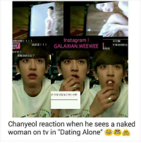 Chanyeol dating alone reaction nutrition