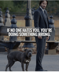 Instagram, Memes, and 🤖: INSTAGRAM @BUSINESSMINDSET 101  IF NO ONE HATES YOU, YOU'RE  DOING SOMETHING WRONG Where is all my haters at! 😂 Via - @Businessmindset101
