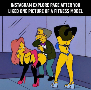 Instagram, How To, and Fitness: INSTAGRAM EXPLORE PAGE AFTER YOU  LIKED ONE PICTURE OF A FITNESS MODEL How to cleanup feed? Anyone?