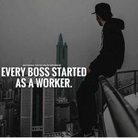 Future, Instagram, and Memes: INSTAGRAM THEFUTUREENTREPRENEUR  EVERY BOSS STARTED  AS A WORKER. Yes @the.future.entrepreneur - Step up, boss and be prepared to lose before you win 💯 . markiron