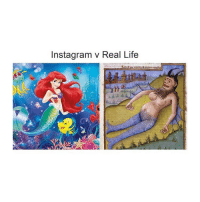 Instagram, Life, and Classical Art: Instagram v Real Life That belly tho