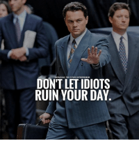 Memes, Entrepreneur, and Tag Someone: INSTAGRAMI THE.FUTURE. ENTREPRENEUR  DONT LETIDIOTS  RUIN YOUR DAY Double tap ❤ if you agree with this and tag someone below who needs to see this.....via @businessgoal | | thefutureentrepreneur | 📷 belongs to the respective owners