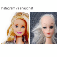 When those three snapchat filters just don't really cut it: Instagramvs snapchat When those three snapchat filters just don't really cut it