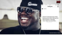 "Hotnewhiphop, Memes, and Worldstarhiphop: Instaguam  If We Ain't Motivating Each Other,  Bettering Each Other Making Each  Other Smarter, Or Stronger.  Don't Want You Around Me... ""RIP Q Worldstar - 5 Of His Inspirational Quotes To Live By!"" Many thanks to @HotNewHipHop 🙏 Live now on WorldStarHipHop.Com and the WorldStar app! @WorldStar (Posted by:@JWSHH) WSHH"