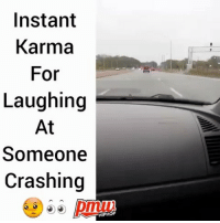 Instant Karma for laughing at this car crash via @pmwhiphop_: Instant  Karma  For  Laughing  At  Someone  Crashing  HIPHOP Instant Karma for laughing at this car crash via @pmwhiphop_
