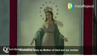 InstaRepost  ary as Mother of God and our mother As Peter entered the house, Cornelius met him and fell at as his feet in reverence. But Peter made him get up. Stand up, I am only a man myself.. Acts 10:25-26 To there's is one God and one mediator between God and men, the man Christ Jesus , who gave himself a ransom for all, to be testified in due time.. 1 Timothy 2:5-6 To my beloved Catholics out there this post is not to mock you but to gently and lovingly point out the errors that Catholic church-Vatican teaches. They have replaced the teachings of God's word in scripture with their own ideas and traditions, which will prove them wrong in the last day. I Pray that many from all other faiths will come to excellent knowledge of the true biblical God-Jesus Christ. Amen