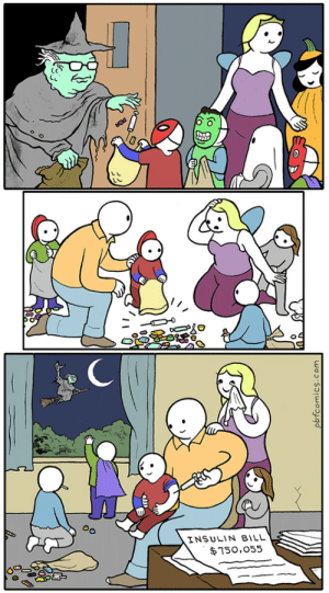 Nice to see a wholesome Perry Bible Fellowship comic: INSULIN BILL  $750,055  pbfcomics.com Nice to see a wholesome Perry Bible Fellowship comic