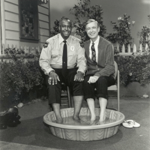 """In 1969, black people were not allowed to swim in public pools with white people. Here Mr.Rogers has officer clemmons join himcooling his feet as a stand ofr inequality. """"I Love You Just the Way you are."""" I'mnot sure yo uguys will agree this belongs here, but it definitely made me say """"aww"""": INT In 1969, black people were not allowed to swim in public pools with white people. Here Mr.Rogers has officer clemmons join himcooling his feet as a stand ofr inequality. """"I Love You Just the Way you are."""" I'mnot sure yo uguys will agree this belongs here, but it definitely made me say """"aww"""""""