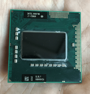 Wanted to get rid of some stuff... this still worth anything these days? If so, how much?: INTEL O ©'88  i7-720QM  e4  %24  SL BLY  V004B426  2929  951809 01. SB2 Wanted to get rid of some stuff... this still worth anything these days? If so, how much?