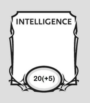 DnD, Been, and Intelligence: INTELLIGENCE  20(+5) We've been doing it wrong.