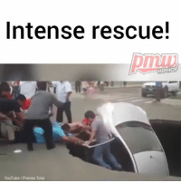 Couple rescued after their car fell into a sinkhole. 👌🙏 @pmwhiphop @pmwhiphop @pmwhiphop @pmwhiphop @pmwhiphop @pmwhiphop: Intense rescue!  HIPHOP  YouTube Prensa Total Couple rescued after their car fell into a sinkhole. 👌🙏 @pmwhiphop @pmwhiphop @pmwhiphop @pmwhiphop @pmwhiphop @pmwhiphop
