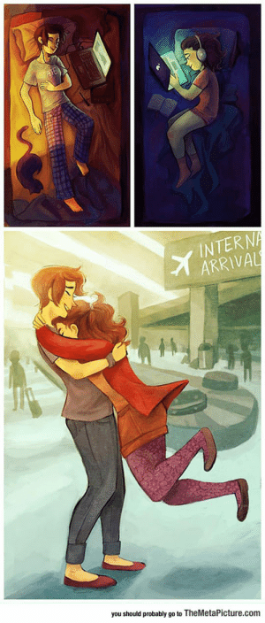 Club, Relationships, and Tumblr: INTERN  ARRIVAL  you should probably go to TheMetaPicture.com laughoutloud-club:  Long Distance Relationships Are Special