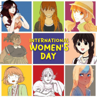 Memes, The Doctor, and 🤖: INTERNATIONAL A  OMEN'  DAY Celebrate #InternationalWomensDay by reading comics by women!   Here are some of our Romance Webtoons by women:   Siren's Lament: hyperurl.co/SirensLament_IWD Cheese in the Trap: hyperurl.co/CheeseITT_IWD Big Jo: hyperurl.co/unTouchable_IWD Oh! Holy: hyperurl.co/OhHoly_IWD Super Secret: hyperurl.co/SuperSecret_IWD Miss Abbott and the Doctor:  hyperurl.co/MissAbbott_IWD Always Human: hyperurl.co/AlwaysHuman_IWD