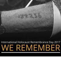 Memes, Holocaust, and International: International Holocaust Remembrance Day 2017  WE REMEMBER 11 million men, women, and children perished in the Holocaust. Share their stories and speak their names to keep their memory alive. HolocaustMemorialDay