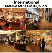"Memes, 🤖, and Media: International  MANGA MUSEUM IN JAPAN  Chrono  Media Insta gram/animes 95  ""NATIONAL MAND. Mun. OMG !😍 . . ."