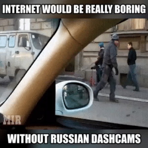 Bad, Cars, and Fucking: INTERNET WOULD BE REALLY BORING  WITHOUT RUSSIAN DASHCAMS teacupballerina:  doomguy89:  wreckemworld:  the-brony-ace:  anonbunny: I'm SCREAMING at that one motherfucker who did the sign of the cross before walking out in front of all those cars  Oh god the fucking tank XD  Yes, Russian dash cams are the best   Aren't they required for insurance cause drivers suck so bad?  ice + you can buy licenses = russia