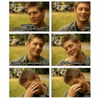 Memes, Star, and Supernatural: Interviewer:  Brief synopsis of the series  thought you were gonna say  STAR!  STAR  boxers? STAR  Briesor Oh hunn . . . Supernatural deanwinchester samwinchester jaredpadalecki jensenackles destiel castiel mishacollins hellismybitch