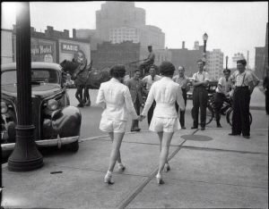intlsugarbaby:  homosexualstereotypes:  aleaula:  tahitea:  ohmonroe:  niick4:  In 1937 two women caused a car accident by wearing shorts in public for the first time  I vow to reblog this every time is shows up on my dash  love this  they caused a car crash  No they didn't. The man driving his car who took his eyes off the road because he was staring at a pair of women caused a car crash. He averted his eyes from the road, he endangered other people and he crashed his own car. This is all the proof you need that we live in a society that blames women for things they didn't do.  ^ Reblog for the comment and lovely picture : intlsugarbaby:  homosexualstereotypes:  aleaula:  tahitea:  ohmonroe:  niick4:  In 1937 two women caused a car accident by wearing shorts in public for the first time  I vow to reblog this every time is shows up on my dash  love this  they caused a car crash  No they didn't. The man driving his car who took his eyes off the road because he was staring at a pair of women caused a car crash. He averted his eyes from the road, he endangered other people and he crashed his own car. This is all the proof you need that we live in a society that blames women for things they didn't do.  ^ Reblog for the comment and lovely picture