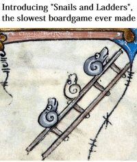 """Monopoly, Classical Art, and Art: Introducing """"Snails and Ladders"""",  the slowest boardgame ever made  assical Art Semes Apart from Monopoly of course"""