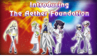 Speedwagon Foundation Alola Forme confirmed.  ~Swampert: introducing  The Aether Foundation Speedwagon Foundation Alola Forme confirmed.  ~Swampert