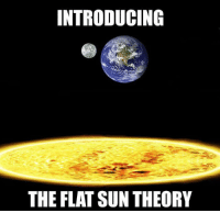 Compelling: INTRODUCING  THE FLAT SUN THEORY Compelling