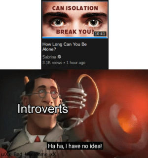 Introvert gang rise up: Introvert gang rise up