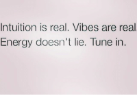Energy, Facts, and Memes: Intuition is real. Vibes are real  Energy doesn't lie. Tune in 💯💯❤️💖 energy vibes facts woman women strongwoman strongwomen inspiration romantic relationship relationships lady ladies girlfriend realtalk realdeal reallife tagafriend strong positivevibes female couples souls iloveyou ilovehim female quotesdaily couple couplegoals she