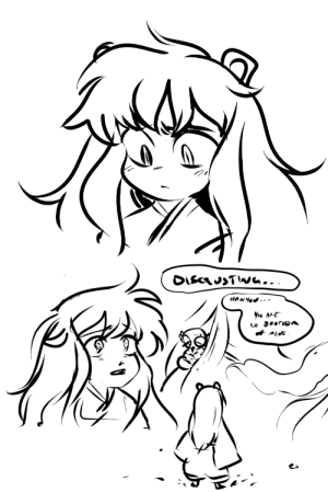 Meme, Target, and Tumblr: inu-tachi:  luvdogman:  someone requested child inuyasha the other night for the meme and im still thinkin bout it  I cry
