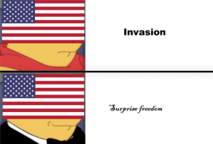 Ah yes, enslaved FREEDOM: Invasion  Surprise freedem Ah yes, enslaved FREEDOM