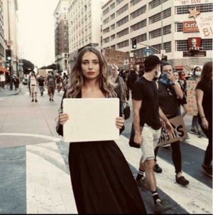 Invest in this influencer how just wanted clout at a black life's matters Protest (she just walked away from the protest after this Photo) via /r/MemeEconomy https://ift.tt/2BSEf1O: Invest in this influencer how just wanted clout at a black life's matters Protest (she just walked away from the protest after this Photo) via /r/MemeEconomy https://ift.tt/2BSEf1O