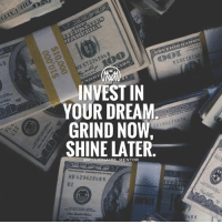 Share with me the way you are investing in your dreams👇 comment below🔥 invest hustle grind future money success millionairementor: INVEST IN  YOUR DREAM  GRIND NOW  SHINE LATER.  G18017583  NTOR  HB 42962848 K  82 Share with me the way you are investing in your dreams👇 comment below🔥 invest hustle grind future money success millionairementor