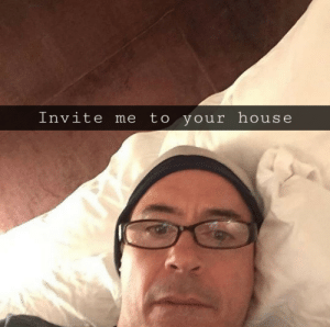 Creepy, Reddit, and House: Invite me to your house Creepy Downey jr