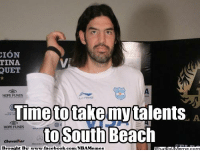 Facebook, Meme, and Nba: ION  TINA  QUET  HOPE FUNDS  Time totake my talents  A  HOPE FUNDS  to South Beach  Chevalier  Brought Bv www.facebook.com/NBAMemes What will Scola do NEXT? Credit: Aninda Bhowmick  http://whatdoumeme.com/meme/ghsm59