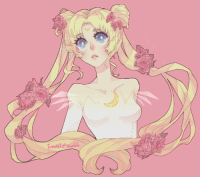 Sailor Moon, Target, and Tumblr: ionahi:  experimental commission order of Sailor Moon