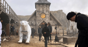 Iorek's body double was a bit stiff, but nice enough #armouredbear #HisDarkMaterials https://t.co/XHFUs1yCjo: Iorek's body double was a bit stiff, but nice enough #armouredbear #HisDarkMaterials https://t.co/XHFUs1yCjo