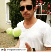 Memes, Videos, and Video: Iovingpatrickdempsey Repost @lovingpatrickdempsey with @repostapp ・・・ Funny video with Patrick juggling from @MyLifeAtSpeed by @Metalme. (June 2013) 😍❤🔝🔥 He is a great Magician! 😉😎 PatrickDempsey McDreamy FavouriteActor Actor BestActor Handsome Style BlueEyes LovingPatrickDempsey GreysAnatomy Driving WEC Endurance MotorSport Paddy McDrivey Porsche Racing Sexy Elegance Style PatrickSmile FIAWEC TagHeuer DontCrackUnderPressure Juggling