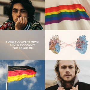 "henriettafoxes:  ""Who is Erik?"" ""Oh, he's my husband,"" Nicky said happily. ""Or will be, eventually."" * ""He taught me to believe in myself. He showed me how to balance my faith and my sexuality, and he made me okay again. I know it sounds dramatic, but he saved my life."" - All For the Game, Nora Sakavic A nerik moodboard requested by @blurredmxnds : IOWE YOU EVERYTHING  I HOPE YOU KNOW  YOU SAVED ME henriettafoxes:  ""Who is Erik?"" ""Oh, he's my husband,"" Nicky said happily. ""Or will be, eventually."" * ""He taught me to believe in myself. He showed me how to balance my faith and my sexuality, and he made me okay again. I know it sounds dramatic, but he saved my life."" - All For the Game, Nora Sakavic A nerik moodboard requested by @blurredmxnds"
